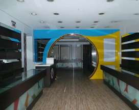 Semi furnished shop for rent