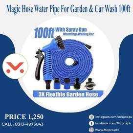 2020 New Magic Hose Water Pipe For Garden & Car Wash 100ft - Blue