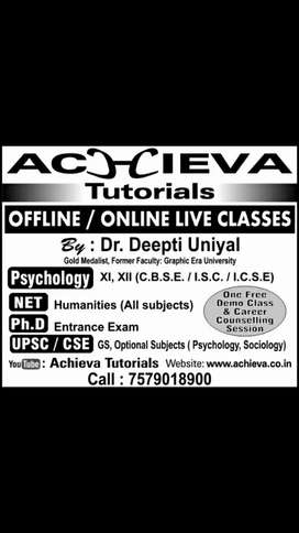 Psychology Tuitions