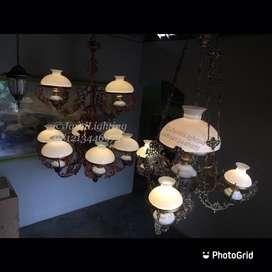 Lampu gantung jawa klasik antik repro
