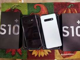 Samsung  S10PLUS 128gb black/white new condition