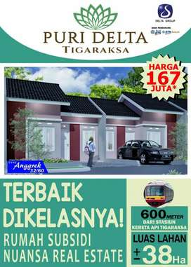 Jual Rumah Murah Subsidi di Tigaraksa, Tangerang