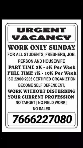 urgent vacancy for digital advertisement earn 3k to 20k per week