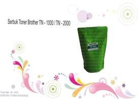 Serbuk Toner Brother Tn - 1000  Tn - 2000