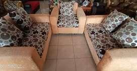 Sofa Furniture ruang tamu minimalis+meja kaca