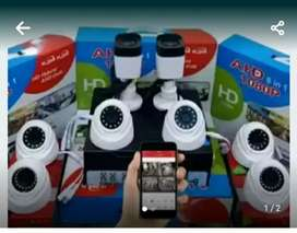 PAKET HARGA SUPER EKONOMIS KAMERA CCTV 2MP/1080P. LENGKAP DAN MURAH