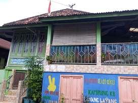 Dijual Rumah Panggung Semi Batu 2 Tingkat Tengah Kota Palembang