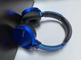 Sony extrabass wireless/blue