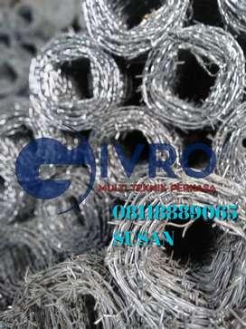 Pabrik dan distributor kawat duri ElektroPleating murah