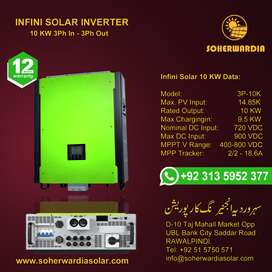 Solar Power Inverter. Infini Solar 10 KW 3 Phase