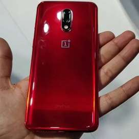One plus 7 is available one year old condition with 6 months seller wa