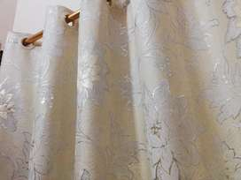 Stylish curtains set of 4 large curtains