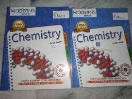Modern abc+ Chemistry Reference book for class 11 (part 1 & 2)