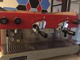 Mesin kopi RANCILiO + Grinder mazzer super jolly
