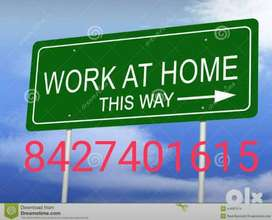 2.)	Weekly Part time home base work for students or