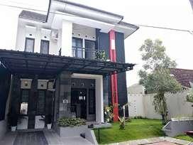 Disewakan rumah full furnished dalam perumahan elit di Wirobrajan