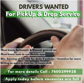 Car Driver for Pickup and Drop - Ahmedabad