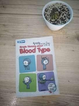 Dijual Buku Simple Thinking About Blood Type