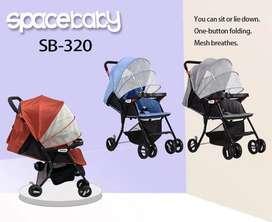 Stoller baby space bisa di lipat