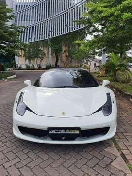 [SaLe] Ferrari 458 italia Tahun 2012 white KM LOW