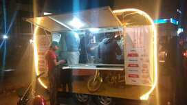 food cart setup for sale with all kitchen accessories.