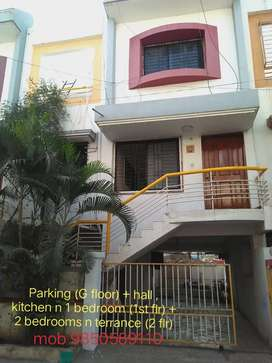 3bhk premium row house bunglow on rent