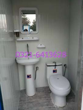 Portable toilet washroom containers office prefabe room porta cabin