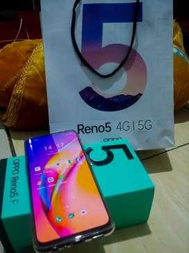 Oppo Reno 5f Ram 8gb 128gb 5 F 8/128 TT BT Xiaomi Note 10 pro iPhone