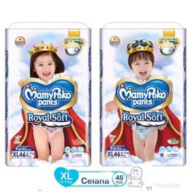 mamypoko royal soft xl 48 boys girls XL48