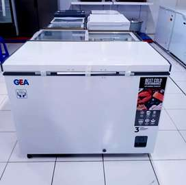 Freezer box, freezer daging, freezer gea Ab-336r/330Liter
