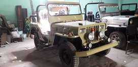 Military colour jeep