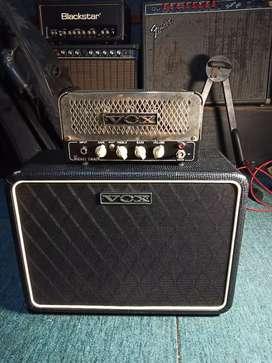 Ampli gitar vox lil night train+cabinet vox 110nt