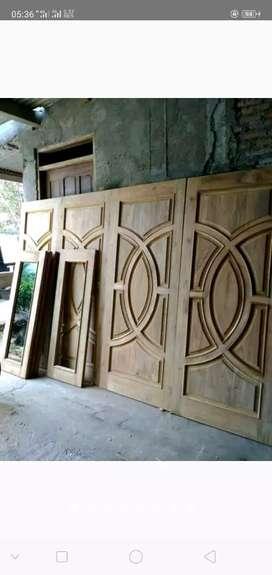 Kusen Pintu Kayu Jati Maoni muirah