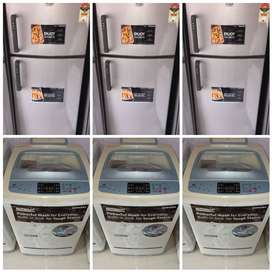 warranty 5 year delivery free mumbai fridges/ washing machine used