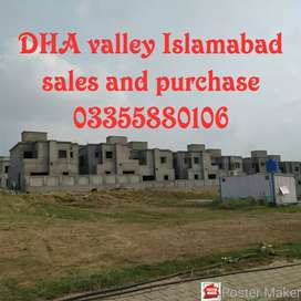 Bulward ballot plot for sale in DHA valley Islamabad all dues paid