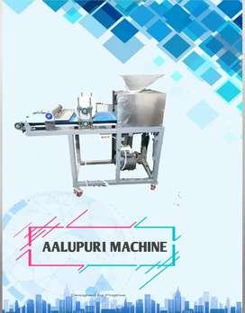 Aalu puri and pani puri machine aaloo puri