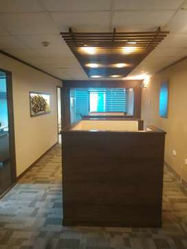 Furnished corporate office space for rent in ISE Towers blue area