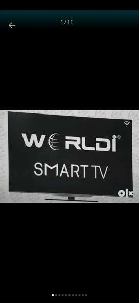 "World i smart tv 24"" to 75""  4k led with smart future"