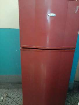 Whirpool Brand double door fridge.