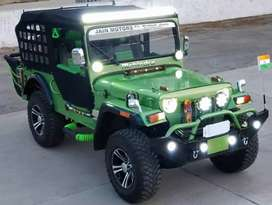 Modified jeeps open jeep
