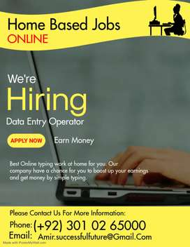 Simple typing job at home.Apply today and start earnings.