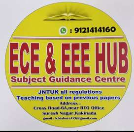 ECE AND EEE tution hub(AC classroom)( online classes available)