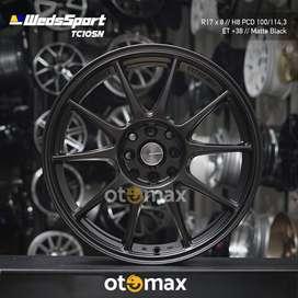 Velg Mobil Weds Sport (CT1069) Ring 17 Matt Black