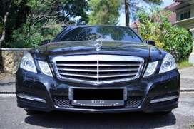Pribadi Mercedes Benz E250 Avantgarde CGI AT 2011 HITAM Plat L