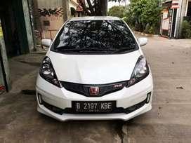 New Honda Jazz RS CVT AT Automatic Tahun 2013 Akhir Putih , 2014/ 2012