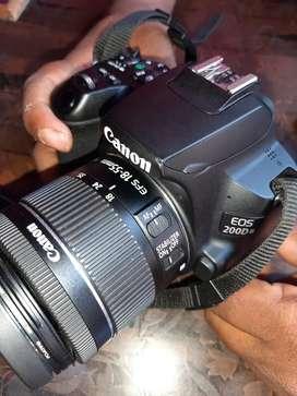 Canon EOS 200d mark 2 with bill box all accessories k sat