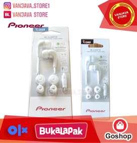 headset Pioneer original In Ear SE-CL502T with mic resmi IMS murah