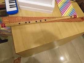 Flute f scale