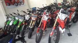 Bali dharma motor jual Kawasaki KLX tahun 2012