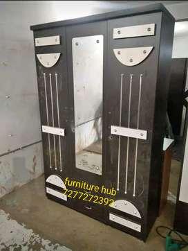 3690 model 3 doors cupboard with mirror brand new